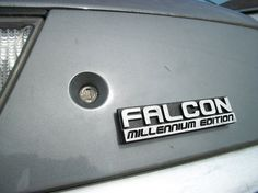 Space Ship Emblem  Falcon Millennium Edition by Empira on Etsy, $12.00