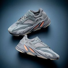"Yeezy for everyone. The adidas Yeezy Boost 700 ""Inertia"" is one of the most versatile releases from Kanye West and the Three Stripes to Adidas Yeezy Sneakers, Yeezy Shoes, Addidas Yeezy, Best Sneakers, Sneakers Fashion, Fashion Shoes, Mens Fashion, Dad Shoes, Streetwear"