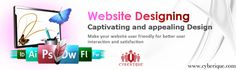 #Web #Design –  We are one of the best #Web #Design #Service providers in India, USA and around the world. Get user friendly & responsive web design services from professional web design company. See more: http://www.cyberique.com/web-design-service.php