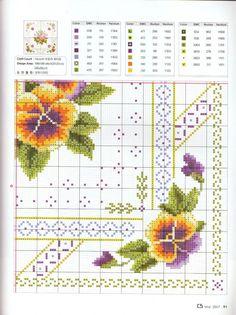 Cross Stitch Flowers, Cross Stitch Patterns, Cross Stitching, Tatting, Needlework, Diy And Crafts, Daisy, Sewing Patterns, Projects To Try
