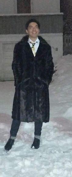 Abrigo de piel. #coat #fur