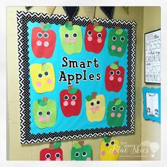 Apple Ideas for Teachers and Letters R-U - First Grade Blue Skies