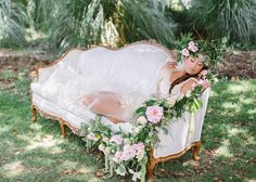 Whimsical Vintage Styled Bridal Boudoir - Fab You Bliss