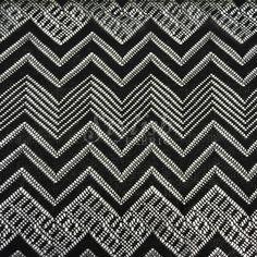 Black Geometric Missoni Lace Fabric- screen door?