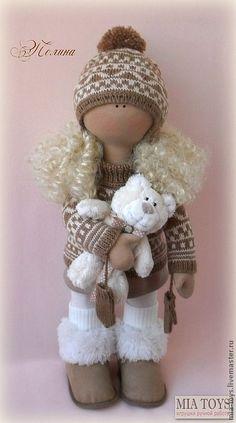 Текстильные куклы ручной работы своими руками