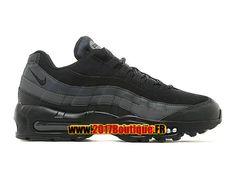 "Nike Air Max 95 Premium ""Goes Full Stealth Mode"" Chaussure de Basketball Nike Pas Cher Pour Homme Noir 538416-YYY"