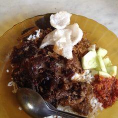 Nasi lemak kopitiam apek jalan mesjid #medan #kuliner