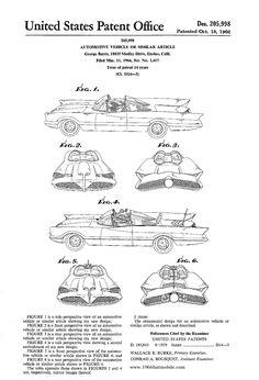 1966 batmobile blueprints - Google Search
