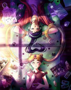 animeis-mydrug: Usagi and Seiya - Amazing.