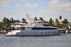 LADY DIANE II is a beautiful 120' pilothouse motor yacht with accommodations for 6 guests in 3 double staterooms each with ensuite head and ...