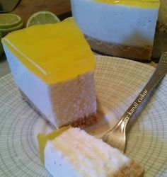 Joghurtos citrom torta Pudding, Cheese, Cookies, Food, Yogurt, Crack Crackers, Custard Pudding, Biscuits, Essen