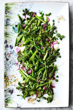 Asparagus, Pea and Mint Salad | Williams-Sonoma Taste