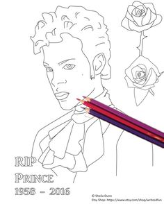 prince free online coloring pages coloring adult pinterest