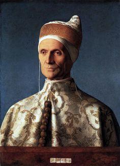 Portrait of Doge Leonardo Loredan 1501 ~ Giovanni Bellini