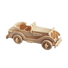 3D Woodcraft Wooden Construction Kit Wood Model Car Puzzles Toys | eBay