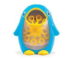 Pingüino Generador de Pompas