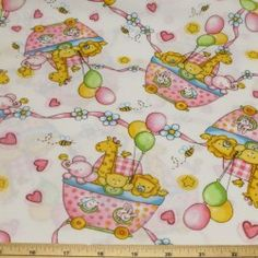 Party Animals 100% Cotton Fabric