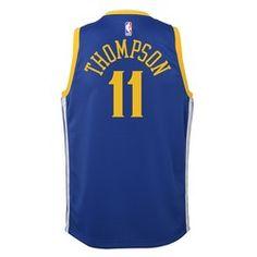 426cd5430ec Golden State Warriors Nike Icon Swingman Jersey - Klay Thompson - Youth