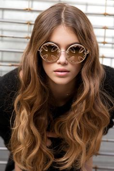 Kaia Gerber serving up some serious sunglasses envy as the new face of Chrome Hearts (via @chromeheartsofficial)