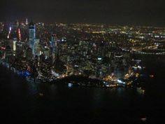 avond helikoptervlucht new york