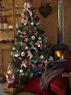 Christmas  tree  ambience ,styliste Philippe de Stefano for botanic