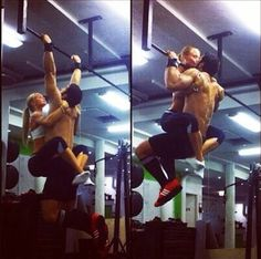 Those who workout together...