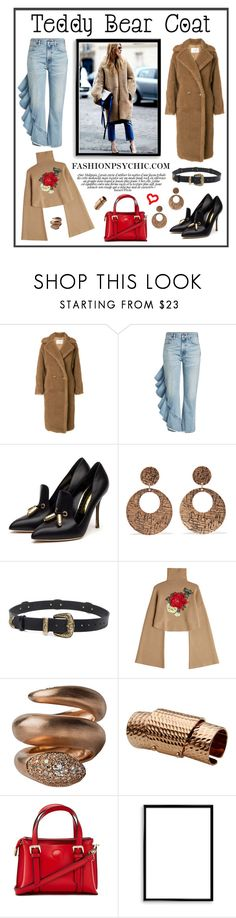 """Fuzzy Coat"" by fashionpsychic ❤ liked on Polyvore featuring MaxMara, Citizens of Humanity, Rupert Sanderson, Kenneth Jay Lane, Magda Butrym, William Fan, Maison Margiela, Forever 21, Bomedo and fuzzycoats"