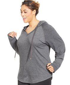 ecc2696b2a0 Ideology Plus Size Hoodie   Reviews - Jackets   Blazers - Plus Sizes -  Macy s