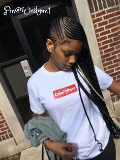 Top 60 All the Rage Looks with Long Box Braids - Hairstyles Trends Black Girl Braids, Braids For Black Hair, Girls Braids, Kid Braids, Ghana Braids, Fishtail Braids, African Braids, Lemonade Braids Hairstyles, Box Braids Hairstyles