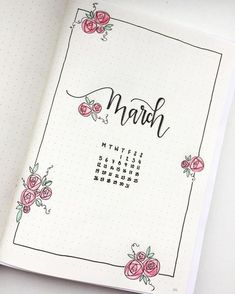 """48 Likes, 4 Comments - zartbitter (@_zartbitter) on Instagram: """"My March theme! It's time for spring!! #bulletjournal #bulletjournalss #bulletjournaljunkies…"""""""