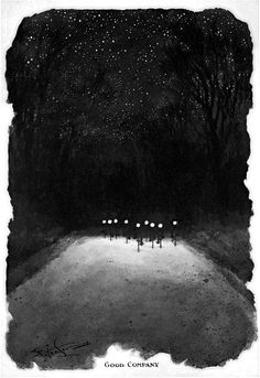 Night Cycle illustration by Frank Patterson