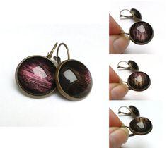 Hand painted Interstellar Earrings Galaxy by GalaxyIllusion