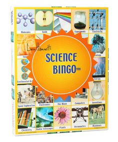 Take a look at this Science Bingo Game by Lucy Hammett Games on #zulily today!