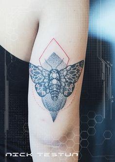 Nikk Testun mandala tattoo puro studio Milan