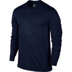 Nike Men's Legend Long Sleeve Shirt, Size: Medium, Blue
