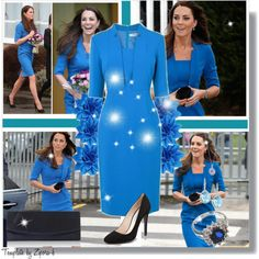 Style Kate Middleton :), created by abcde-979 on Polyvore