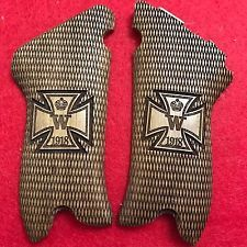 WWI Luger P.08 Pistol Grips Walnut wood  Iron cross engraved 1918 new engraved