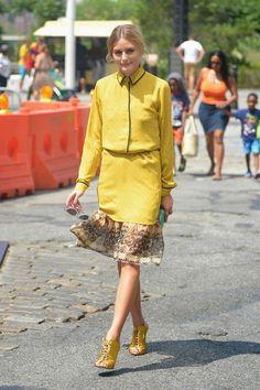 The Olivia Palermo Lookbook : Olivia Palermo in Brooklyn