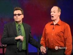 An hour of whose line scenes from a hat.... This may be the best thing I have ever pinned.