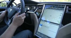 "Tesla model S 17"" touch screen"
