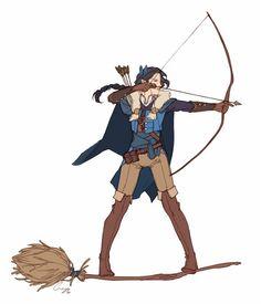 Vex, Critica Role, the best stolen broom ever.