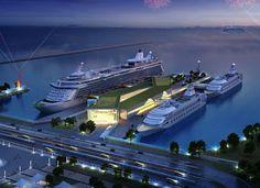 xiangyun island international cruise terminal 1