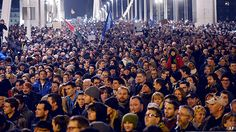 Just a bit of protest to change the Hungarian governments views on internet taxes :D.