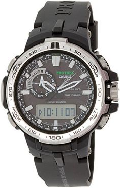 Women's Wrist Watches - PRW60001DR Casio Wristwatch *** Learn more by visiting the image link.