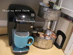 Chipping with Charm: O.K-Cup Storage Stand