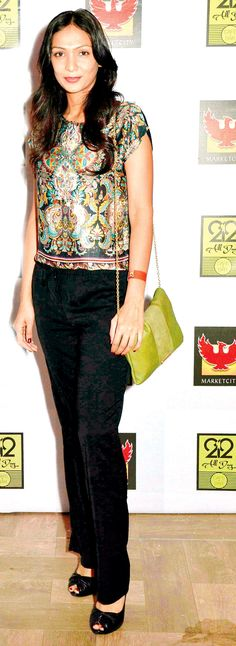 Shamita Singha at a launch party in SoBo. #Page3 #Fashion #Style #Beauty