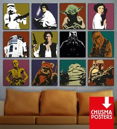 Cuadros Star Wars