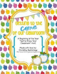 This fun freebie is perfect for getting your students familiar with your classroom at Open House or the first day of school!