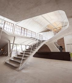 smartvoll inserts sculptural intervention inside loft panzerhalle