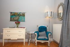 The Three Towers Eco House & Organic Kitchen, Loughrea Picture: The Silver Room - Check out TripAdvisor members' 544 candid photos and videos. Silver Room, Room Pictures, White Bedroom, Towers, Trip Advisor, Beautiful Homes, Accent Chairs, Organic, Candid